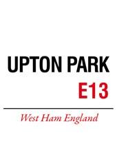 Upton Park Metal Sign