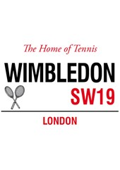 Wimbledon Metal Sign