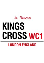 Kings Cross Metal Sign