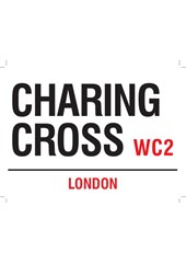 Charing Cross Metal Sign