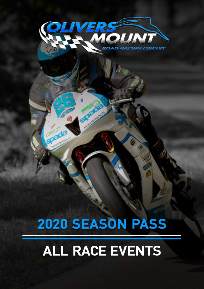 Olivers Mount 2020 Season Pass - click to enlarge