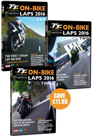 TT On-Bike Laps 2016 Vol. 1-3 - click to enlarge