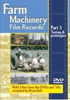 Farm Machinery Film Records Pt 3 DVD