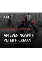 An Evening With Peter Hickman Thursday 6th June