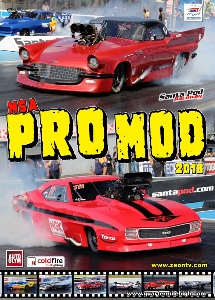 MSA Pro Modified 2018  DVD