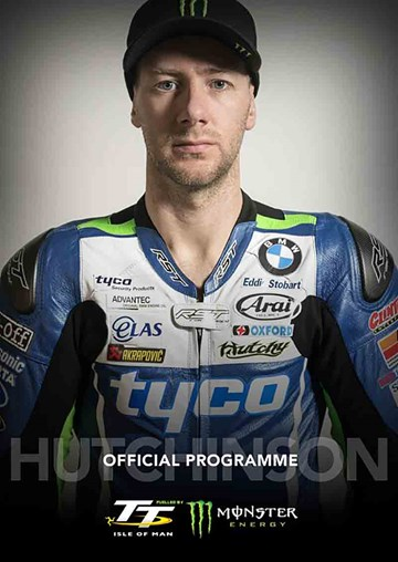 TT 2017 Programme, Race & Spectator Guide - Hutchinson Cover - click to enlarge