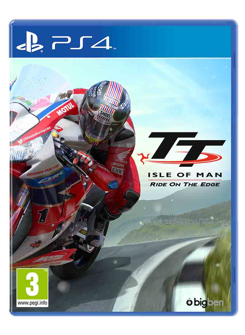 TT Isle of Man Ride on the Edge PS4 Game : Duke Video