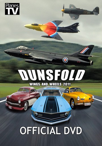 Dunsfold Wings and Wheels 2011 DVD - click to enlarge