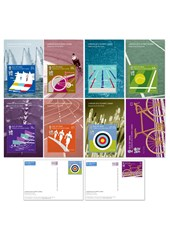 2012 Olympic Games IOM Post Office Stampcard Set
