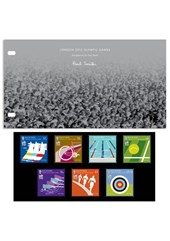2012 Olympic Games IOM Post Office Presentation Pack Set