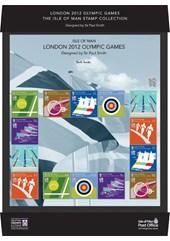 2012 Olympic Games IOM Post Office Souvenir Sheetlet