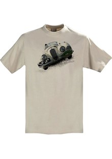 Gritty Marques Jaguar XK120 T-Shirt Sand
