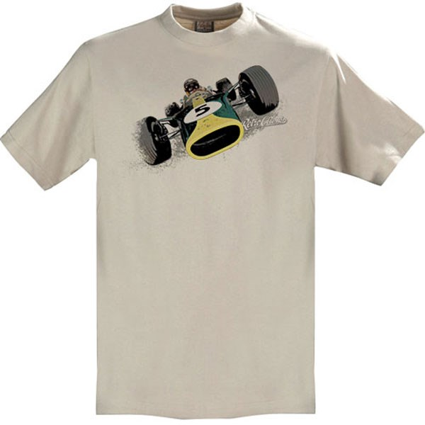 Gritty Marques Lotus 49 T-Shirt Sand - click to enlarge