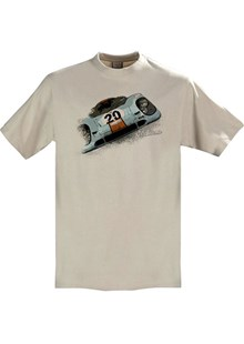 Gritty Marques Gulf Porsche 917 T-Shirt Sand