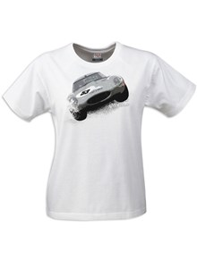Gritty Marques E-type Ladies T-shirt White