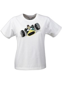 Gritty Marques Lotus 49 Ladies T-Shirt White