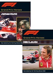 The real Hunt and Lauda DVD duo set