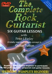 Guitar Lessons Complete Rock Guitar I DVD