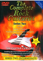 Guitar Lessons Complete Rock Guitar II DVD