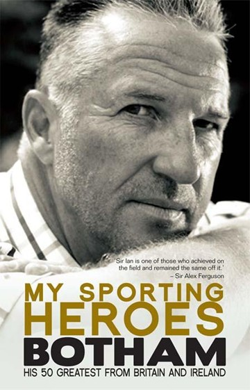 My Sporting Heroes - Ian Botham (HB) - click to enlarge