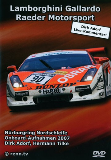 In Car Nurburgring Lamborghini DVD - click to enlarge