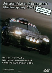 In Car Nurburgring Jurgen Alzen Porsche 996 Turbo DVD