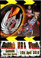 Super 7even Speedway Series 2010 LAKESIDE Under 21 Final DVD