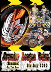 Super 7even Speedway Series 2010 Premier League Pairs SOMERSET DVD
