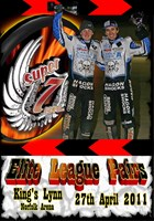 Super 7even Speedway Series Elite Pairs League DVD KINGS LYNN