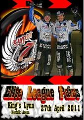 Super 7even Speedway Series Elite Pairs League DVD KINGS LYNN