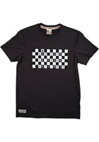 Primo Ace Cafe Chequerboard T-Shirt Graphite