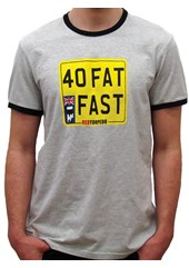 Primo 40 and Fast T-Shirt Grey