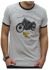 Primo Velocette KTT T-Shirt Grey