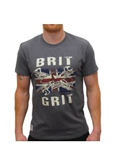 Brit Grit (Mens) Graphite T-Shirt