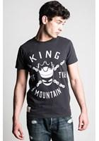 John McGuinness McMountain King (Mens) Black T-Shirt