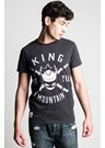 John McGuinness McMountain King (Mens) Black T-Shirt