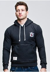 RT Crest (Mens) Anthracite Pullover Hoodie
