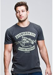 Glemseck Sprint Racer (Mens) Graphite T-Shirt