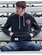 Retro Racing (Mens) Anthracite Pullover Hoodie