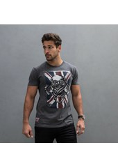 Ton Up Blighty Mens T-Shirt Graphite