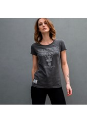 MBM RIP (RoadRunner UK) Ladies T-Shirt Graphite