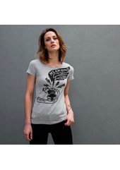 MBM ROAR (Engine Case) Ladies T-Shirt Grey  Marl