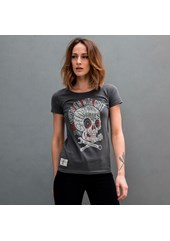 Speed Punk Ladies T- Shirt Graphite