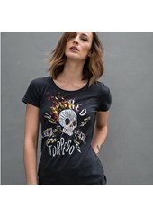 Speed Demon Ladies T-Shirt Black