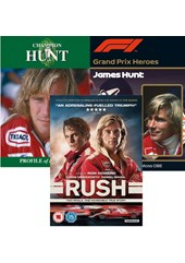 James Hunt : The Real Story Plus Rush DVD 3 DVD Set