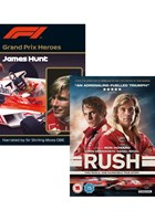 Rush DVD PLUS Grand Prix Heroes James Hunt