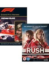 Rush DVD PLUS Grand Prix Heroes James Hunt
