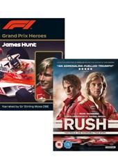 Rush Blu-ray and Grand Prix Hero Hunt 2 Disc Set