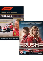Rush Blu-ray and Grand Prix Hero Lauda Two Disc Set
