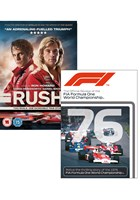Rush DVD PLUS F1 1976 Season Review DVD